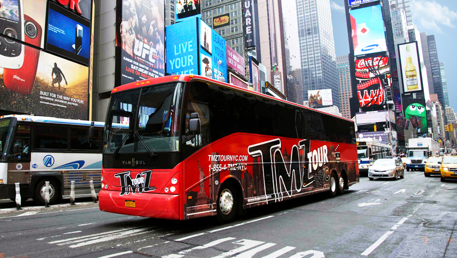 TMZ Tour of NYC: See Where the Celebs Party, Play & Get Into Trouble $21.50 ($43 value)