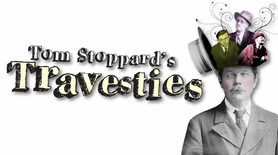 Travesties logo