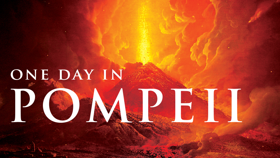 Ancient Roman Artifacts Preserved in Magma: Pompeii Exhibit $13.75 ($27.5 value)