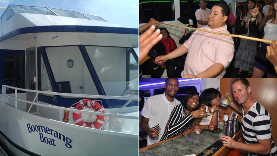 Drink and Dance the Night Away on Boomerang Party Yacht $18.00 ($36 value)