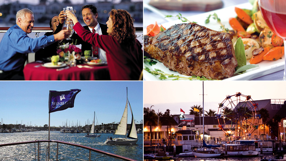 Hornblower's Romantic Dinner-Dance Cruise in Newport Beach $66.00 ($107.85 value)