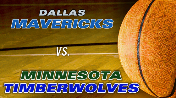 Nba mavericks timberwolves