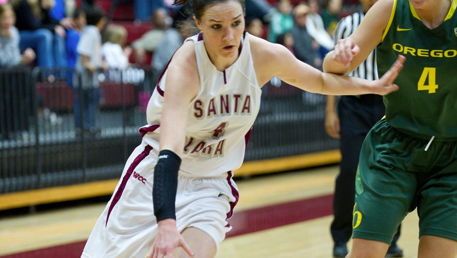 Santa Clara University Broncos Women's Basketball COMP ($7 value)