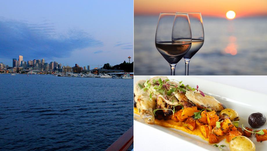 Sunset Dinner Cruise: 4-Course Dinner, Music & Views $59.00 ($91.32 value)
