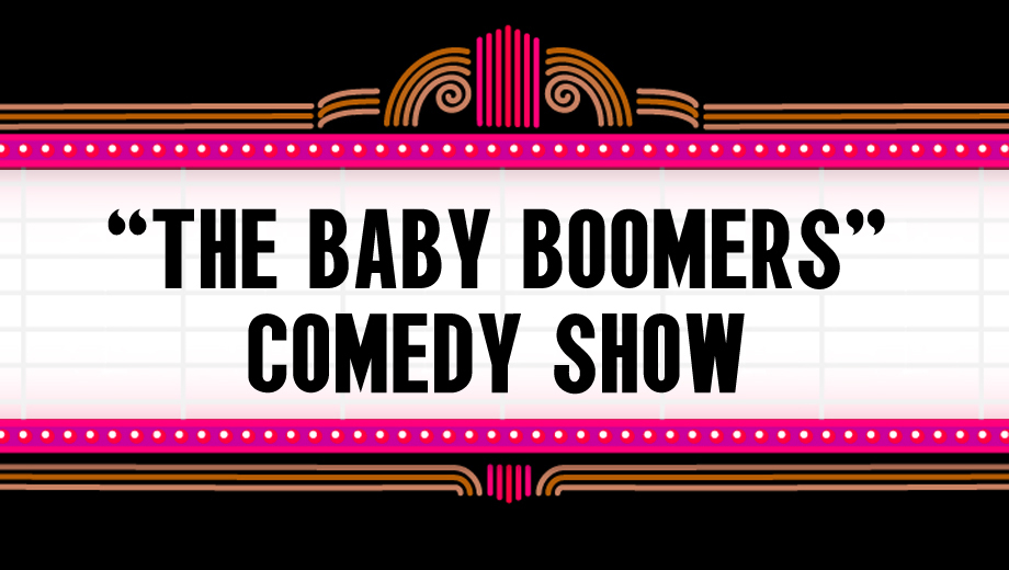 Solo Comedy Sets From the Boomer Generation $5.00 ($10 value)