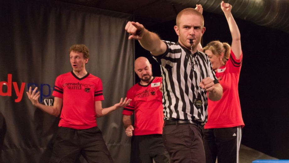 ComedySportz: Fast and Funny Improv Comedy Competition COMP - $7.00 ($14 value)