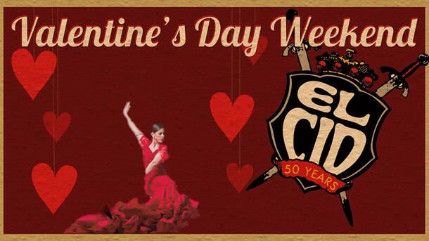 El Cid S Valentine S Day Weekend Flamenco Show Dinner Los Angeles