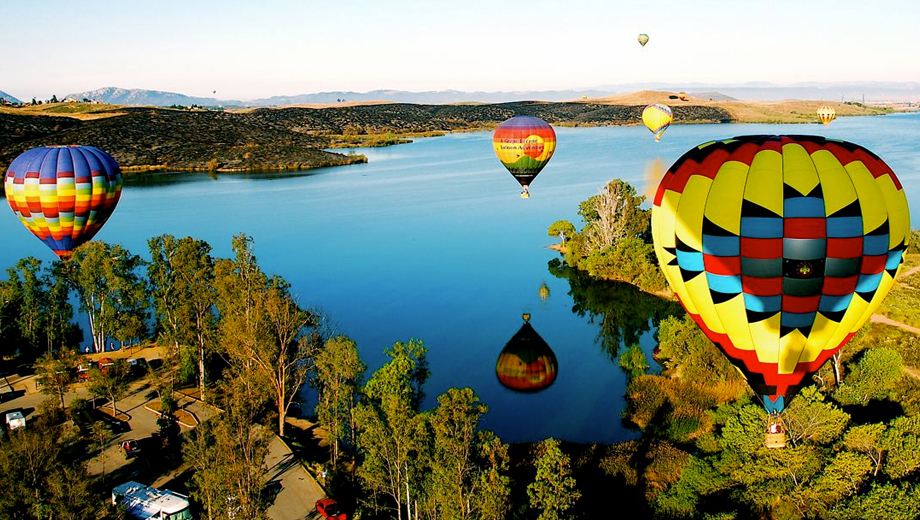 Romantic Balloon Ride Over Gorgeous Temecula Valley $125.00 ($250 value)