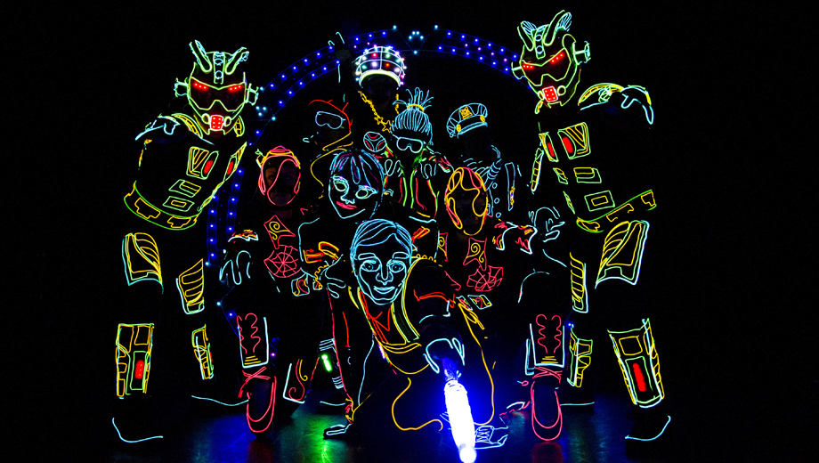 iLuminate -- The Light-Suited Dance Group From