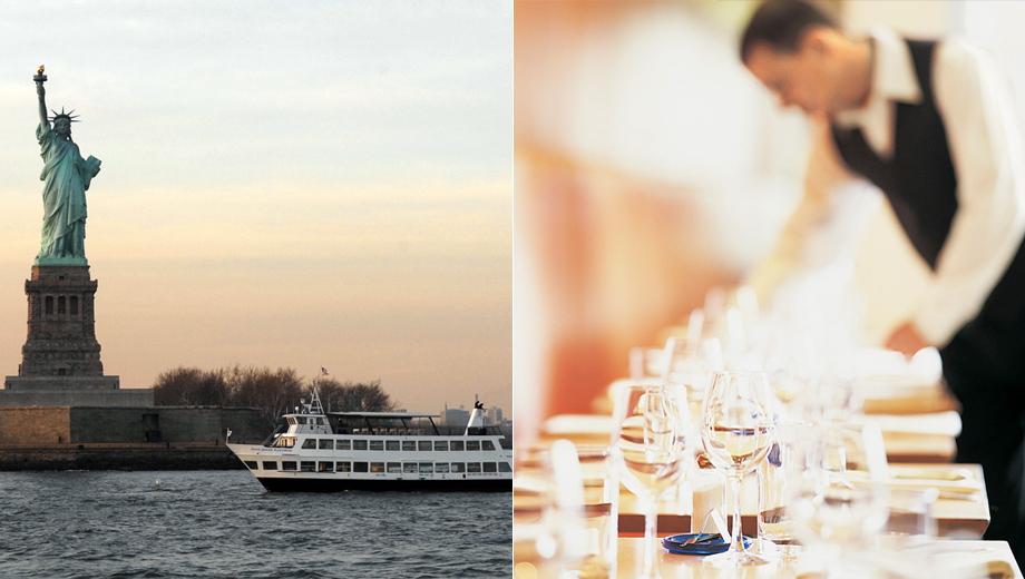 Premier Manhattan Dinner Cruise With Wine, Window Table $69.20 ($122.2 value)