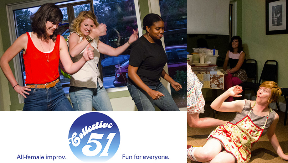 All-Female Improv Comedy From Collective 51 $5.00 ($10 value)