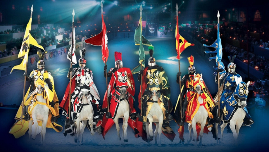 Medieval Times: Cheer the Battling Knights as You Feast $29.53 - $45.68 ($43.79 value)