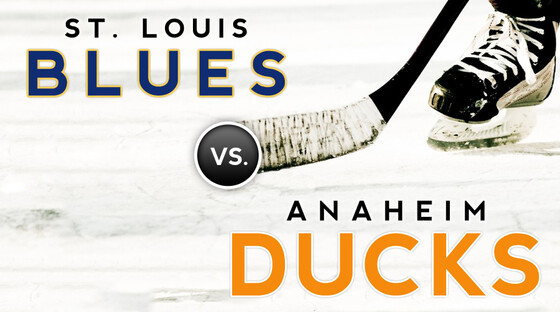 Nhl blues ducks