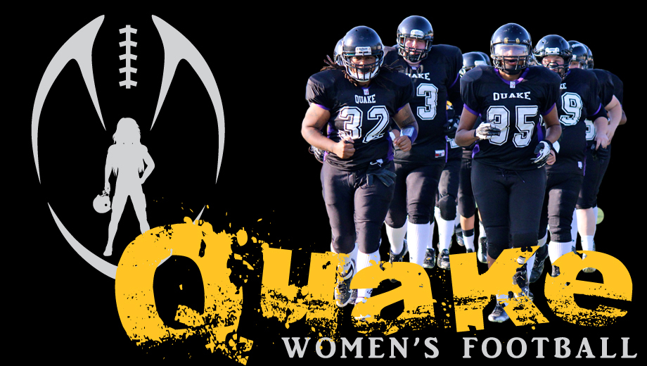 Feel the Power of California Quake Women's Tackle Football COMP - $5.00 ($5 value)