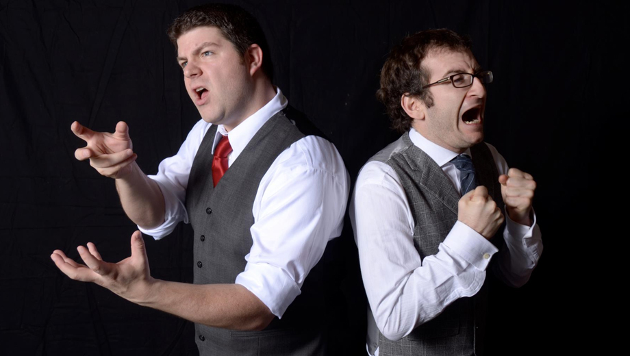 Three-Act, Two-Man Improv Comedy Play