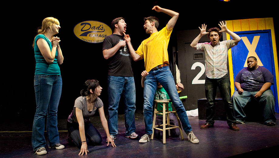 Dad's Garage Theatre Company Improv at Aurora $5.00 ($10 value)
