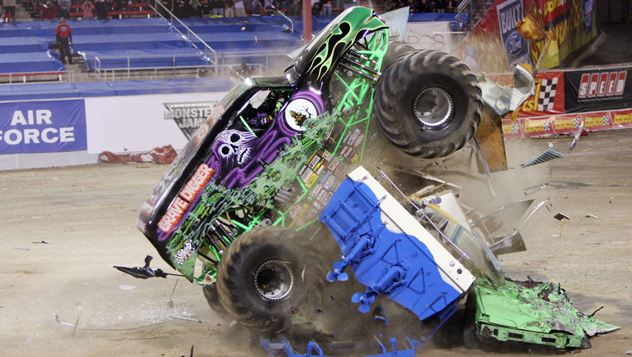 Monster Jam: Car-Crushing Racing & Freestyle Competition $13.00 - $24.55 ($23.5 value)