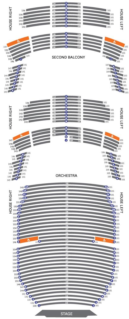 Bass hall seating chart heart impulsar co