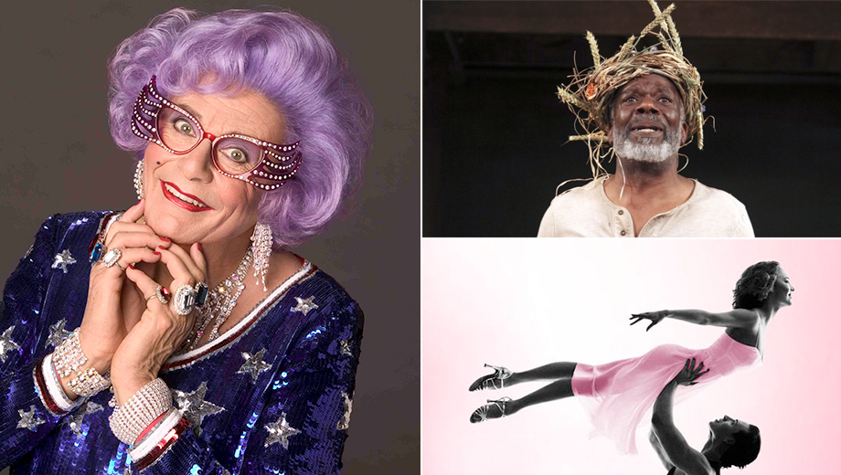 Dame Edna, NPR's Ira Glass or