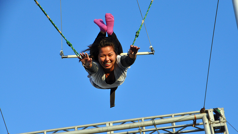 Fly Through the Air With a Trapeze Lesson at Santa Monica Pier $39.00 ($87 value)