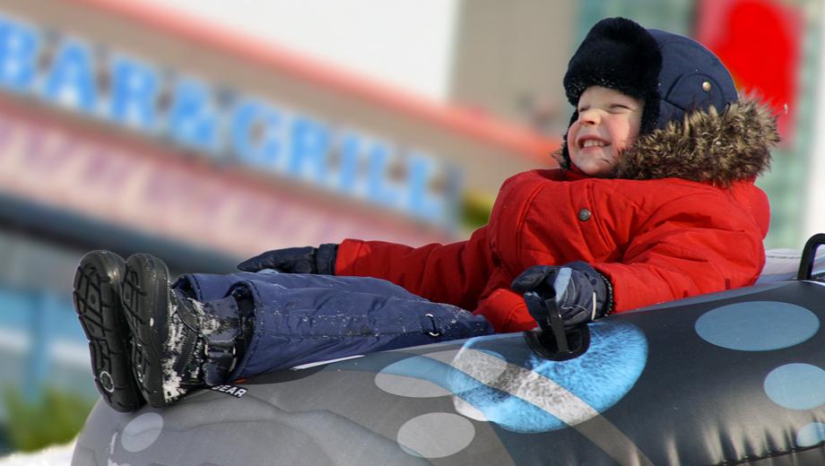 Polar Peak Winter Tubing & Ice Skating in