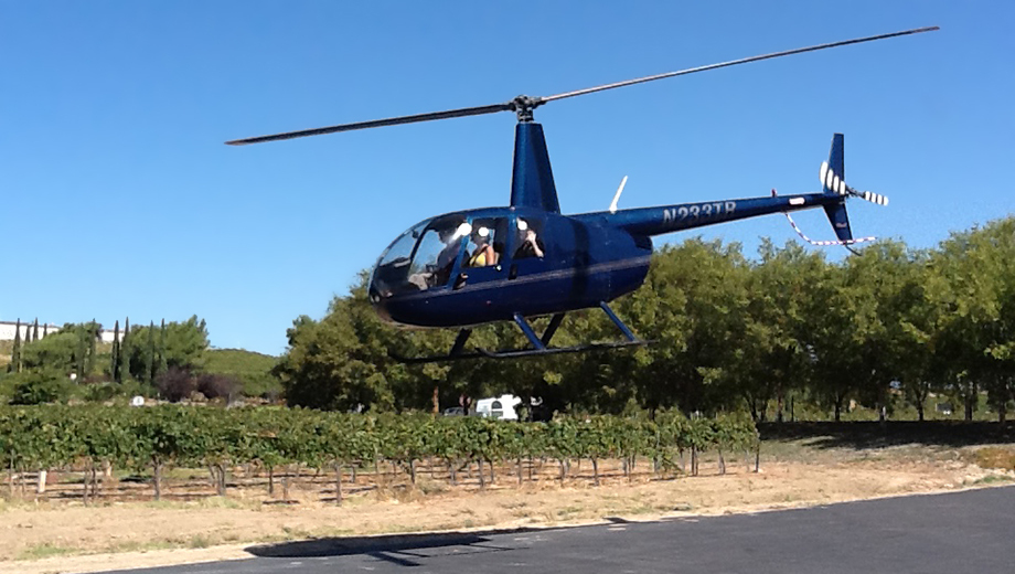 Helicopter Flights Over Temecula Wine Country $85.00 ($169 value)