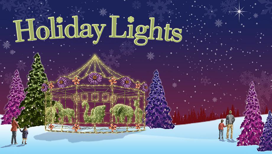 Gilroy Gardens Family Theme Park: Holiday Lights