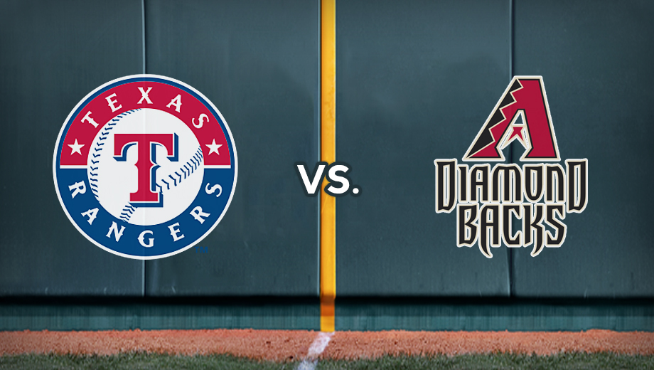 Texas Rangers vs. Arizona Diamondbacks: Baseball Returns in April $9.00 - $69.00 ($17 value)