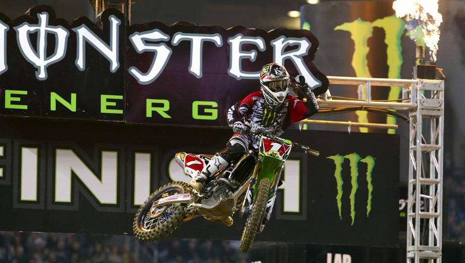Monster Energy AMA Supercross Roars Into the Georgia Dome $11.33 ($21.63 value)