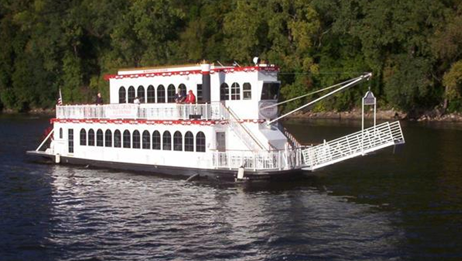Happy Hour and Pizza Cruise on a Mississipi River Paddle-Wheeler $14.00 ($28 value)