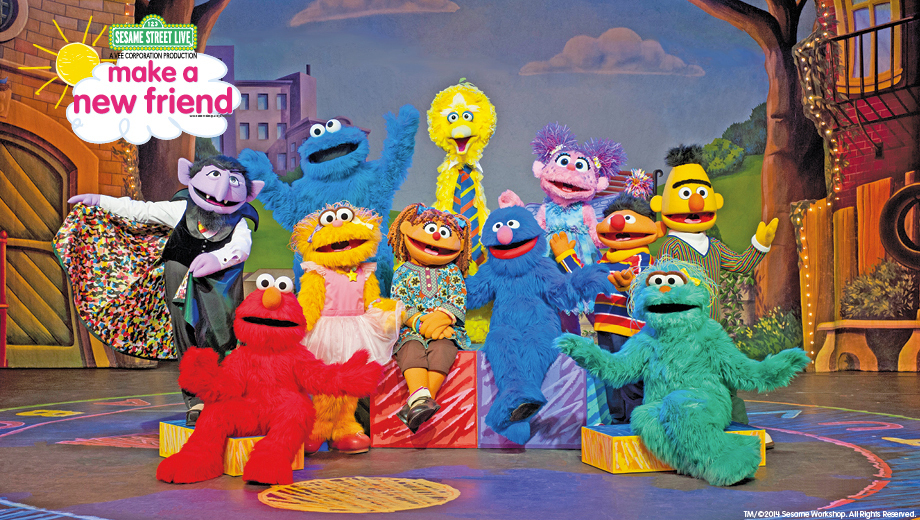 Elmo & the Sesame Street Live Gang in