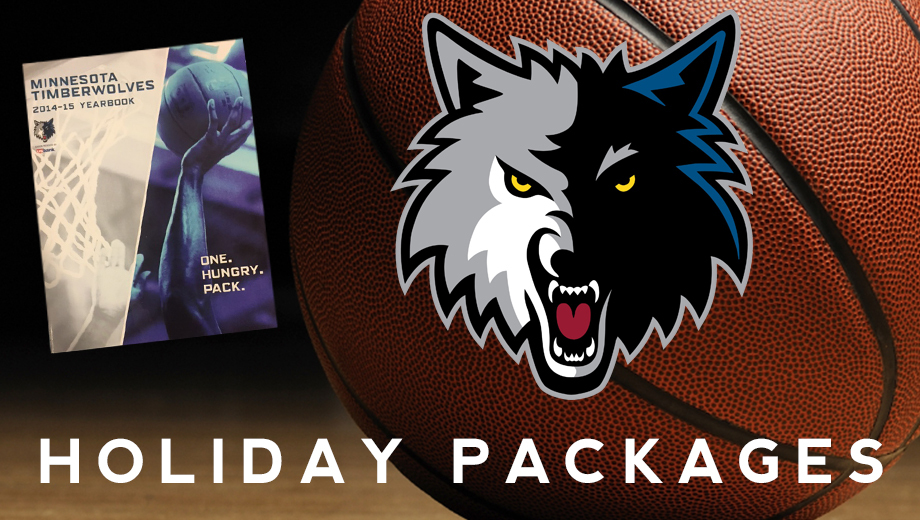 Enjoy a T-Wolves Basketball Game and Get a Team Yearbook With These Holiday Packages $10.00 - $50.00 ($27 value)