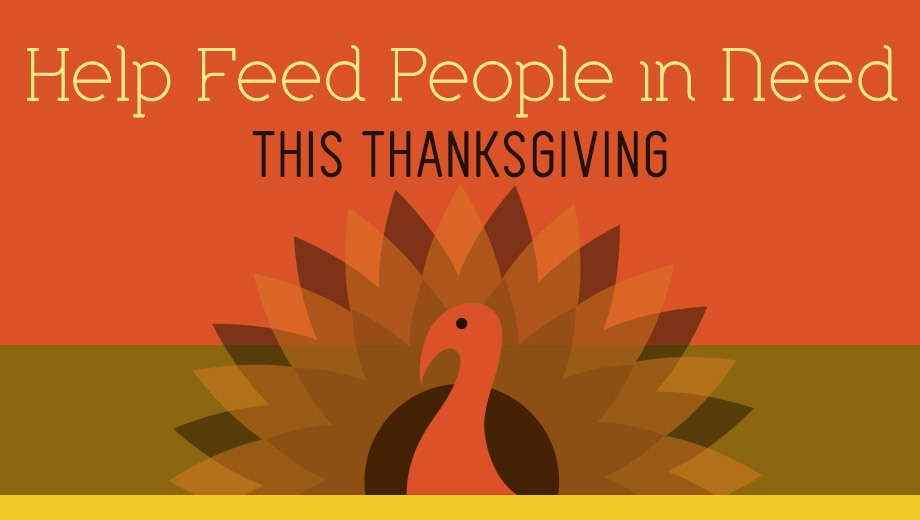 Donate a Thanksgiving Meal Through Second Harvest Food Bank $10.00 - $30.00 ($10 value)