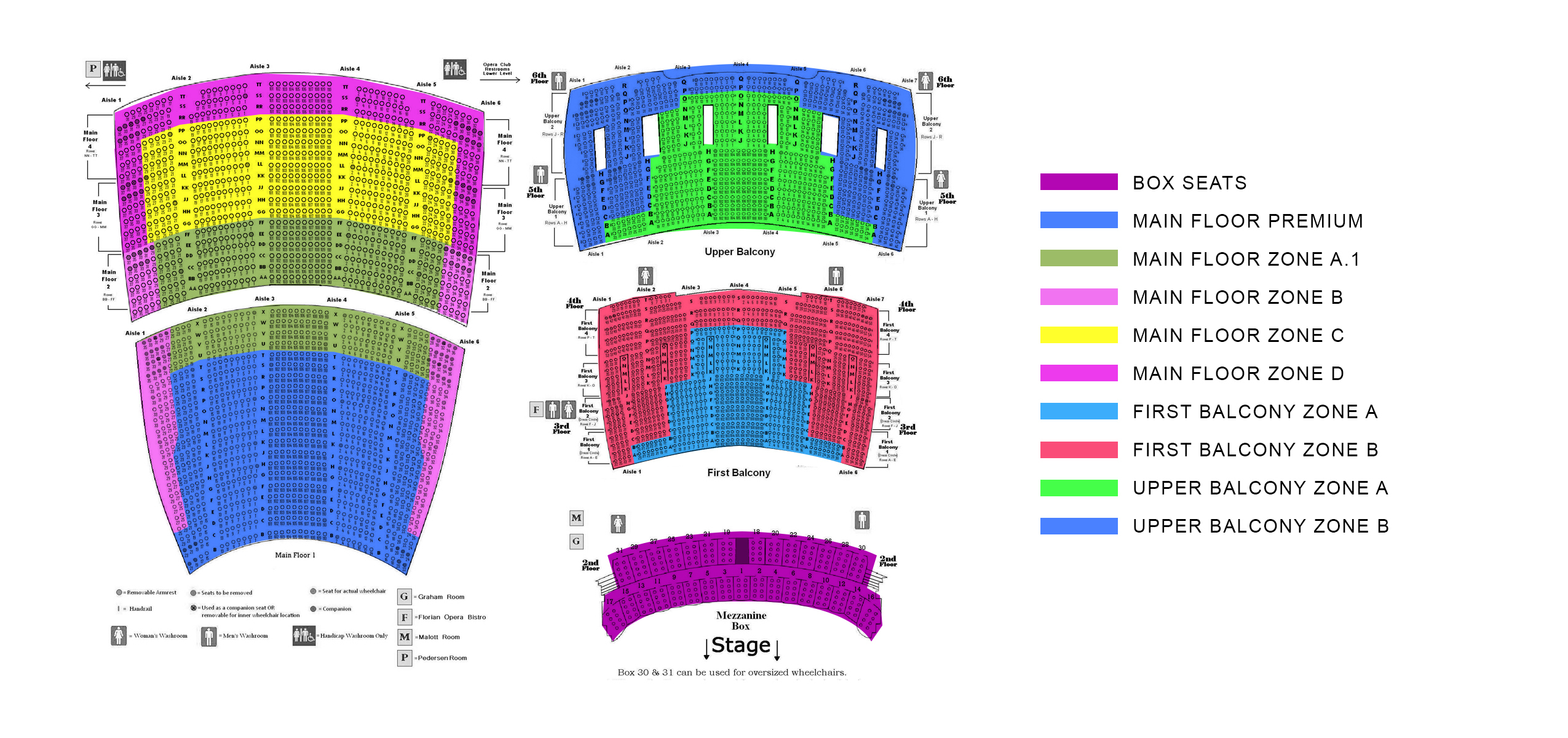 Lyric opera house chicago il tickets schedule seating charts