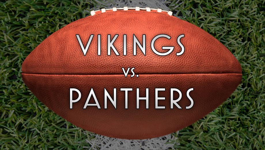 NFL Action: Vikings Take On the Carolina Panthers $7.00 - $12.00 ($54 value)