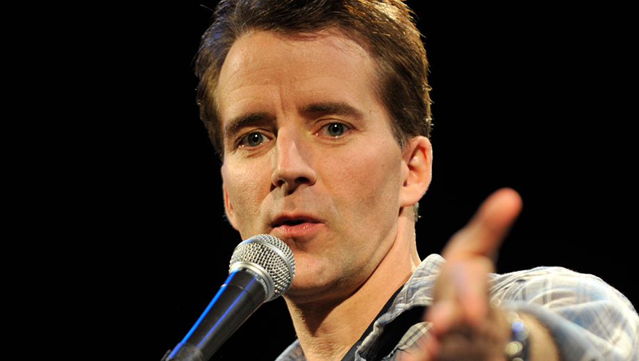 Comedian Juston McKinney (
