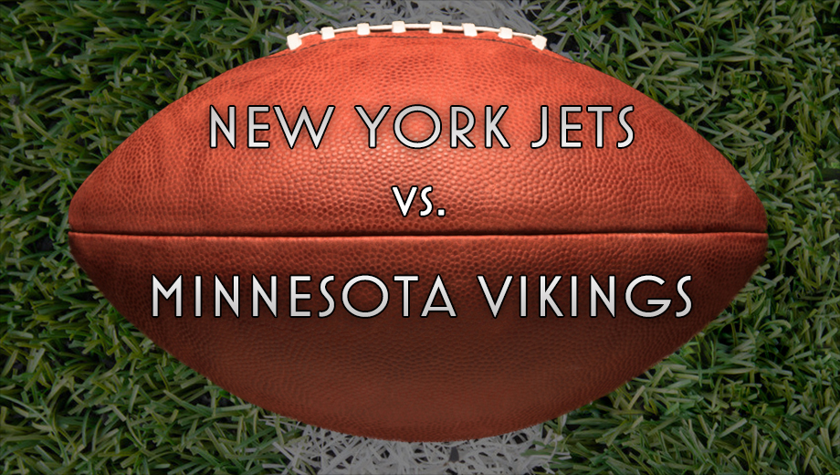 NFL Action: Vikings Battle the Jets $7.00 - $12.50 ($54 value)