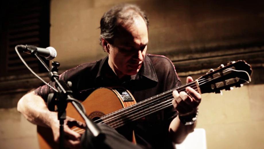 World Music Guitarist Andres Laprida Honors Jobim, Toquinho & de Moraes $7.50 ($15 value)