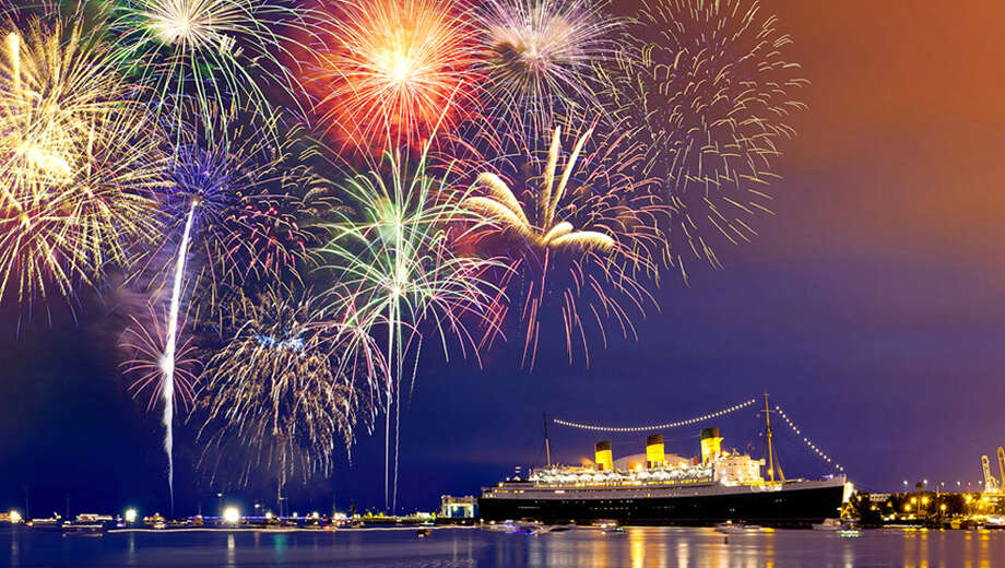 Image result for Queen Mary in Long Beach new year