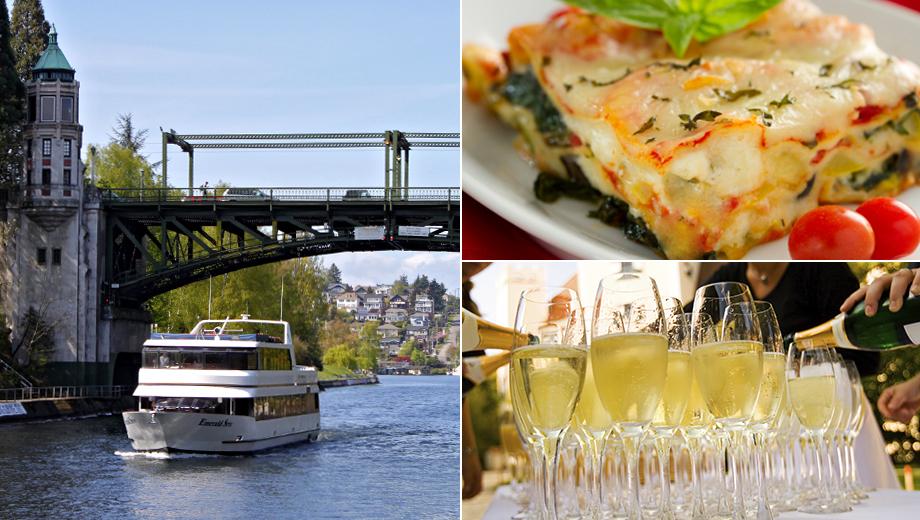 Cruise Lake Union and Lake Washington: Buffet Lunch and Beautiful Views $23.00 - $46.00 ($36.14 value)