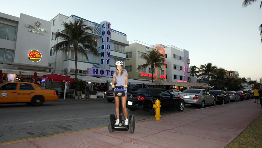 Roll Along the Riverwalk on the Miami River Segway Tour $29.50 - $50.00 ($69 value)
