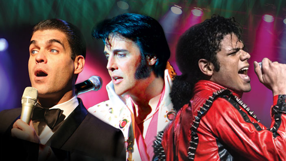 Elvis, Sinatra & Michael Jackson Sing the Hits in Tribute