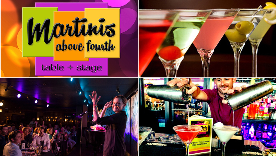Specialty Martinis, Great Food & Live Music $10.00 ($20 value)