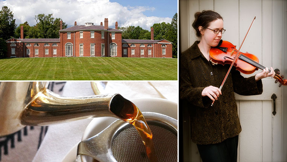 Tea, Cake & Tunes at the Historic Gore Place Mansion $7.50 ($15 value)