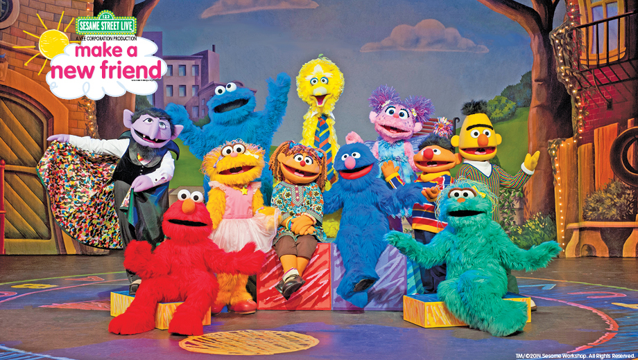 Musical Fun in Sesame Street Live
