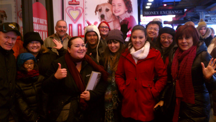 Visit Broadway's Famous Theaters on a 2-Hour Walking Tour $12.50 ($25 value)