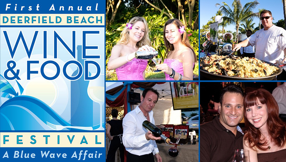 Deerfield Beach Wine & Food Festival Features Culinary Delights $40.00 - $79.00 ($90 value)