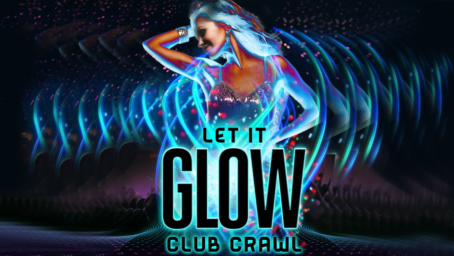 Hollywood Glow Stick Club Crawl $10.00 - $30.00 ($20 value)