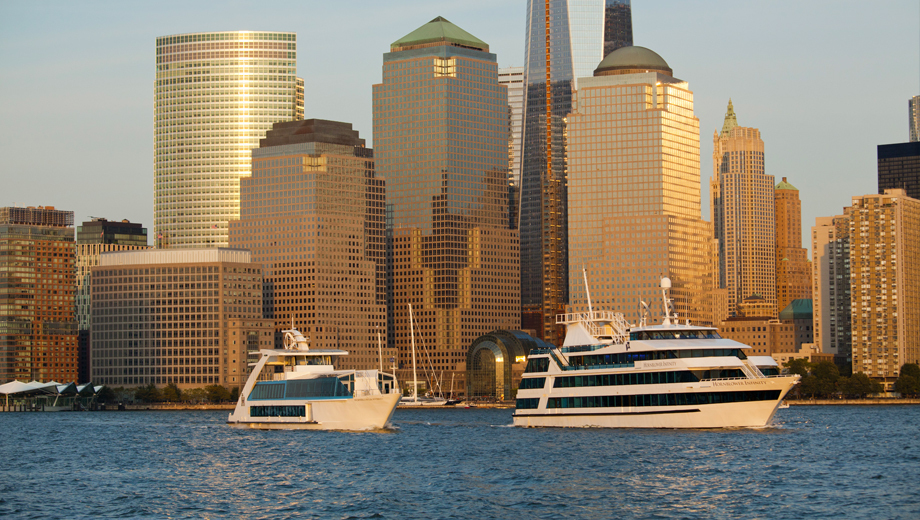 Premier Manhattan Dinner Cruise $65.32 - $102.00 ($163.31 value)
