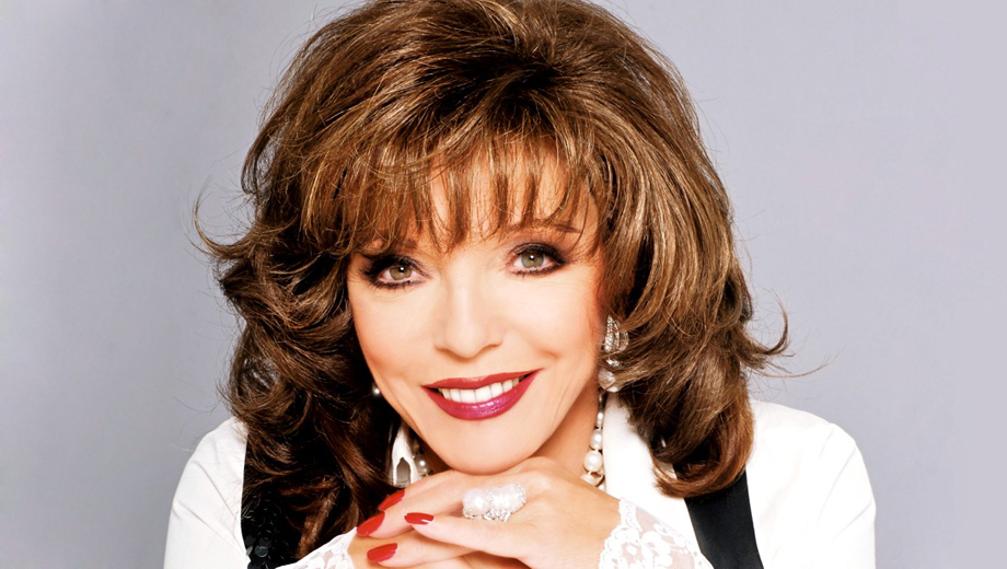 Joan Collins Reveals Herself in